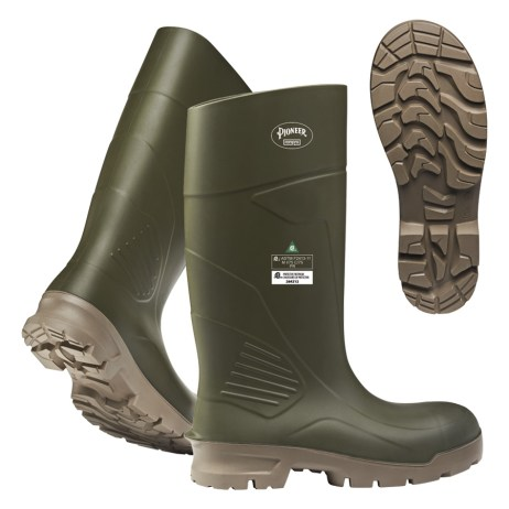 Green Work Boots