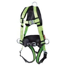 harness with positioning belt
