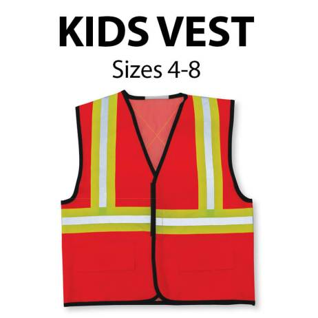 kids vest front