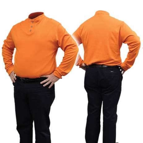 orange fire resistant fr shirt