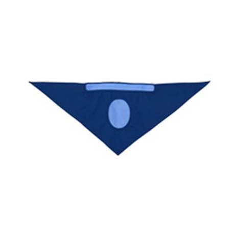 cooling bandana flat view blue