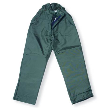 100% nylon green chainsaw fallers pants