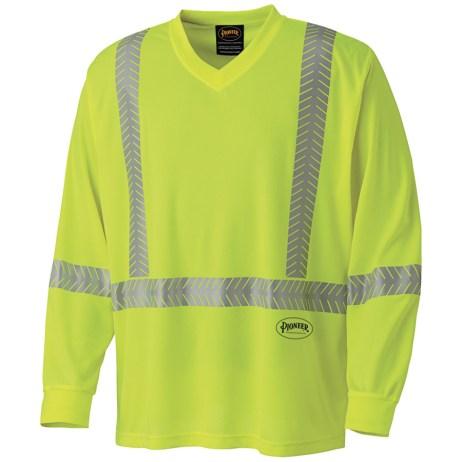 Yellow Mesh Safety Shirt