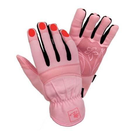 pink carpenter ladies gloves