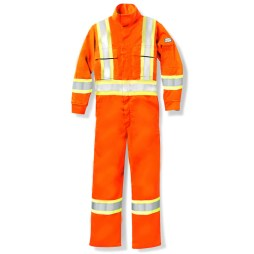 Orange Hi-Viz Coveralls