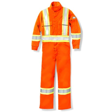 Orange Hi-Viz Coveralls