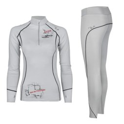 White Thermal Underwear Set