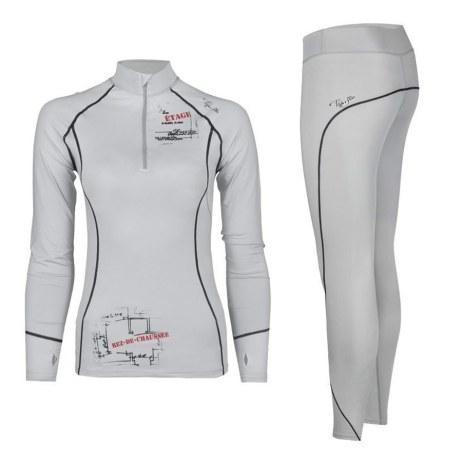 White Thermal Underwear Set