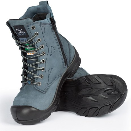 Blue Work Boots
