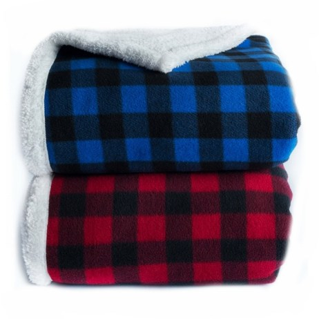 lumberjack sherpa throws