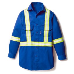 blue fr uniform shirt