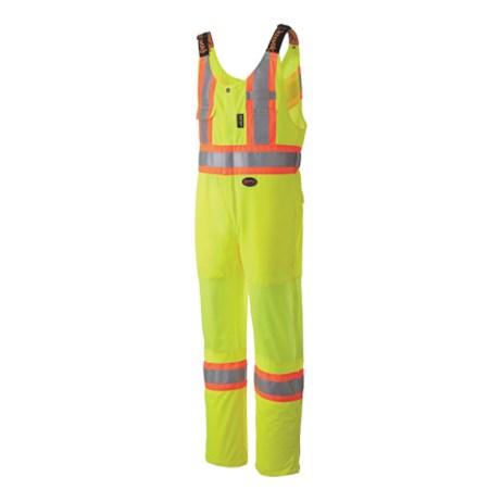 hi vis traffic safey overalls