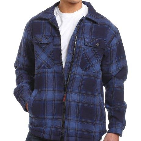 zip front jack shirt