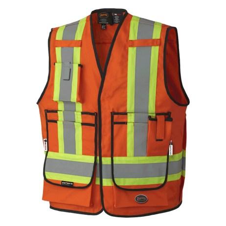 Orange FR Safety Vest