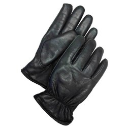 Black Goatskin Driver Gloves