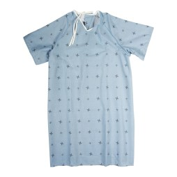 Overlapping Patient Gown