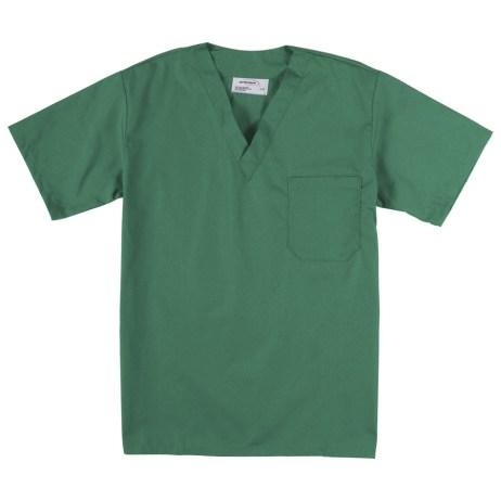 Green Scrub Top