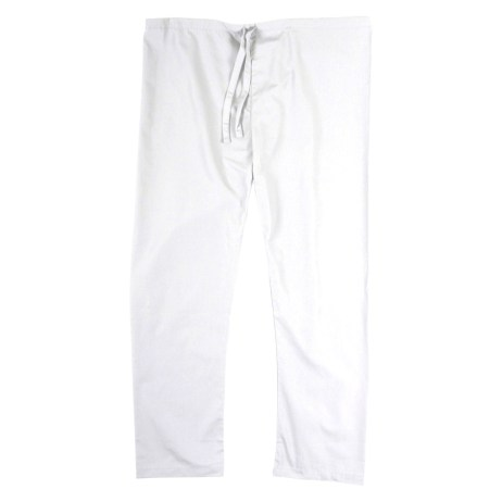 White Scrub Pants