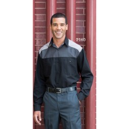 Three-Toned Mechanic Shirt