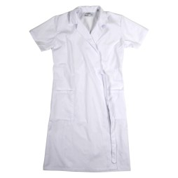 Short Sleeve Wraparound Coat