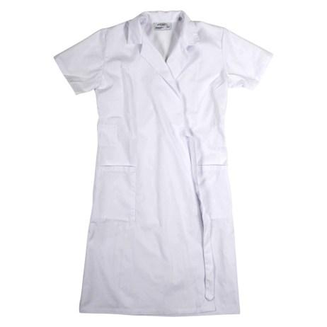 Short Sleeve Wraparound Coat