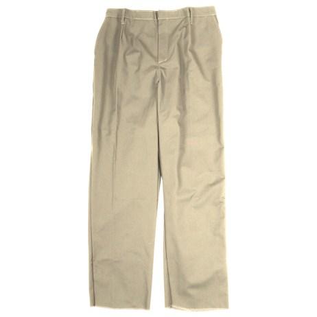 Beige Work Pants
