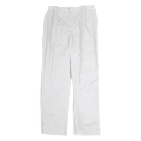 White Work Pants