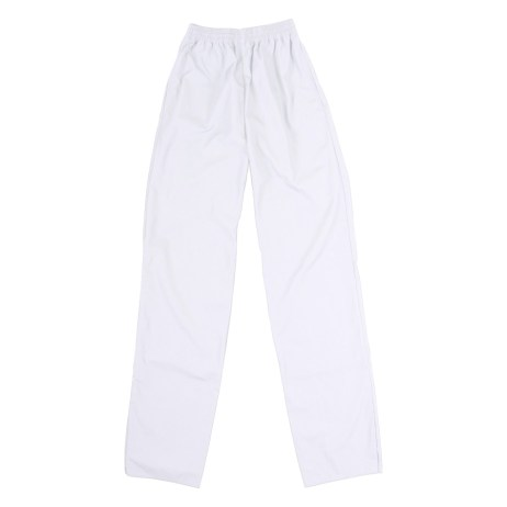 White Elastic Pants