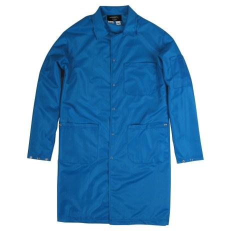 Blue ESD Lab Coat