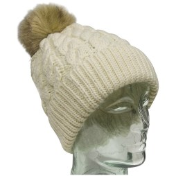 White Knit Toque