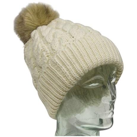 White Knit Toque