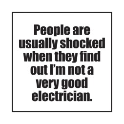 People are shocked sticker