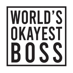 okayest boss sticker