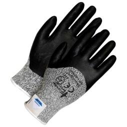 black grey cut resistant gloves