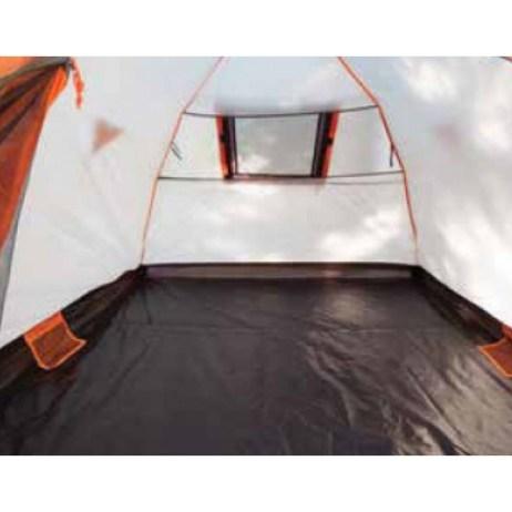 inside bear den tent