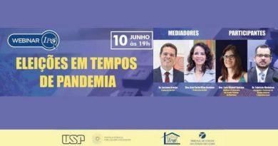 Eleições municipais em tempos de pandemia é tema de webinar do IPC