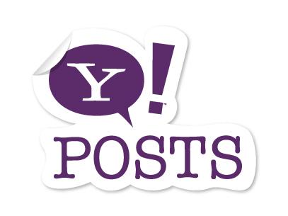 Yahoo!Posts: Relatório final.