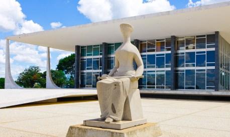 Fachada Supremo Tribunal Federal