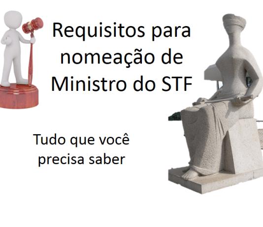 Requisitos para nomeação de Ministro do STF
