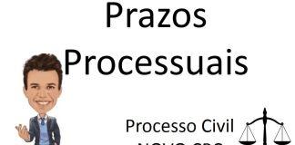 prazos processuais e o novo cpc