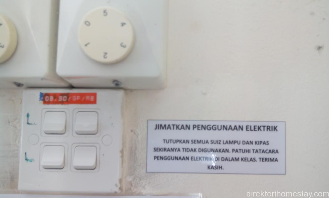 Notis Penjimatan Elektrik