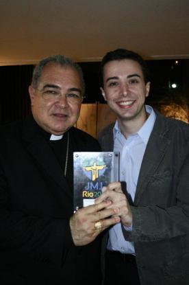 Dom Orani e Gustavo Huguenin