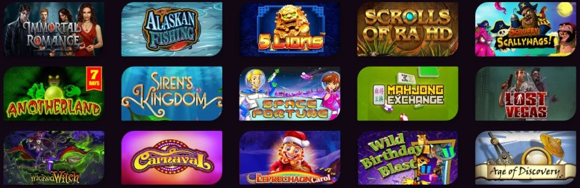 casinonic casino games