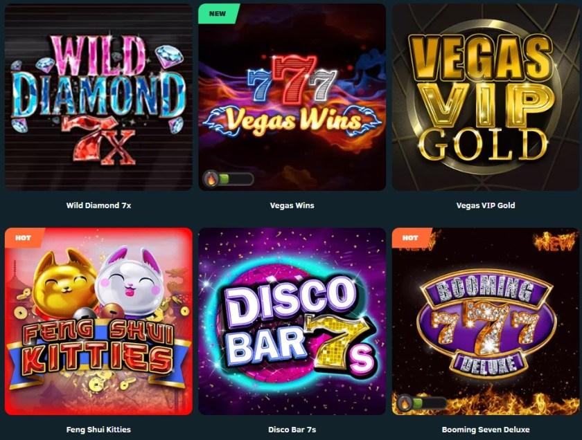 GreenSpin Casino Games