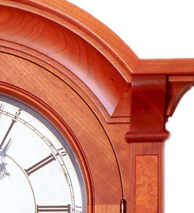 Clock Bonnet Detail