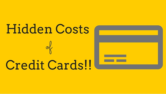 costs of credit cards