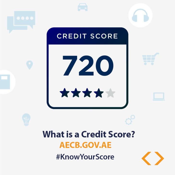credit score sample uae credit bureau