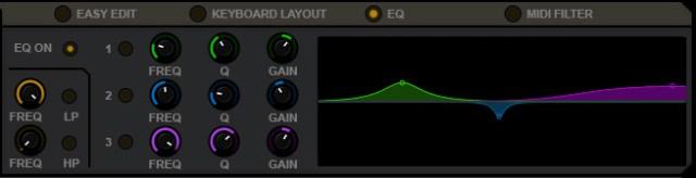Layers / EQ