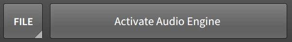Activate Audio Engine