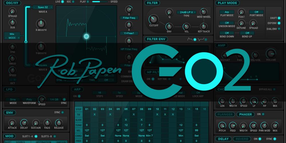 <新製品>Rob Papen「Go2」発売のお知らせ